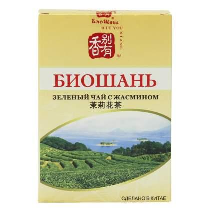 "Чай БиоШань ""Jasmin Tea"", зеленый с жасмином, 80 гр"