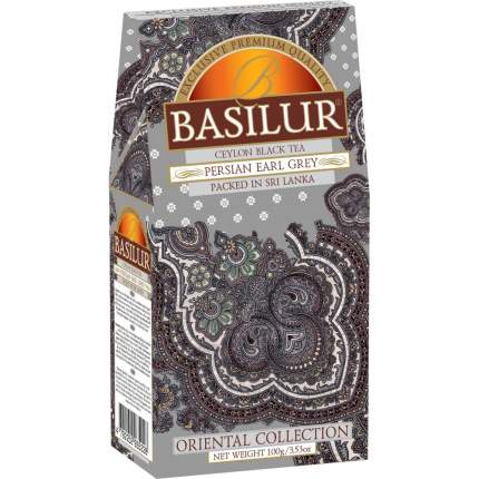 """Чай Basilur """"Persian Earl Grey"""", черный листовой с добавками, 100 гр"""