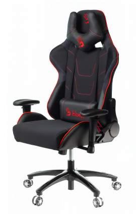 Кресло игровое A4 BLOODY GC-400 черный/красный искусст.кожа/ткань