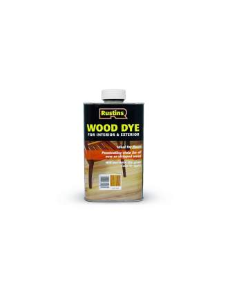 Морилка для дерева Rustins Wood Dye Dark Teak, цвет: темный тик, 250 мл.