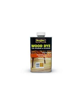 Морилка для дерева Rustins Wood Dye Ebony, цвет: эбеновое дерево, 250 мл