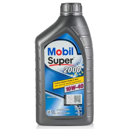 Моторное масло Mobil Super 2000 X1 10W-40 1л