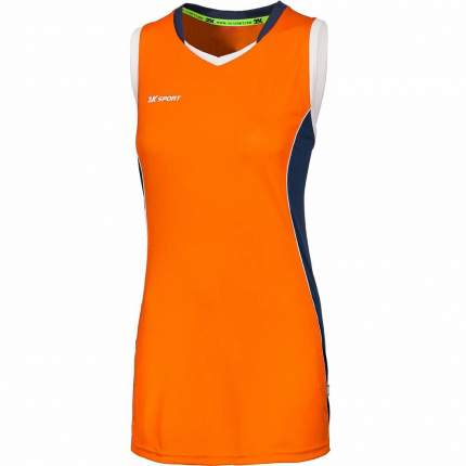 Майка 2K Sport Advance W, neon orange/navy/white, L INT