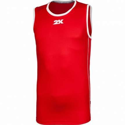 Майка 2K Sport Classic, red/white, XXL INT