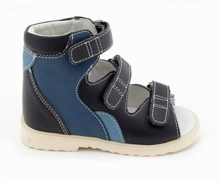Ортопедические сандалии Sursil-Ortho 10-024_ для мальчиков синий