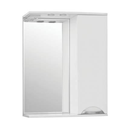 Зеркальный шкаф Style Line Жасмин 65/С белый
