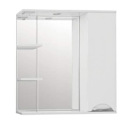Зеркальный шкаф Style Line Жасмин 80/С белый