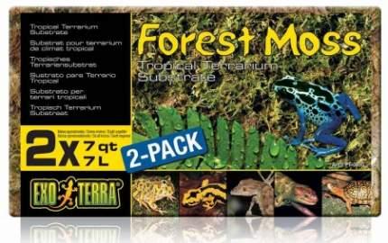 Грунт для террариума Exo Terra Forest Moss. прессованный мох