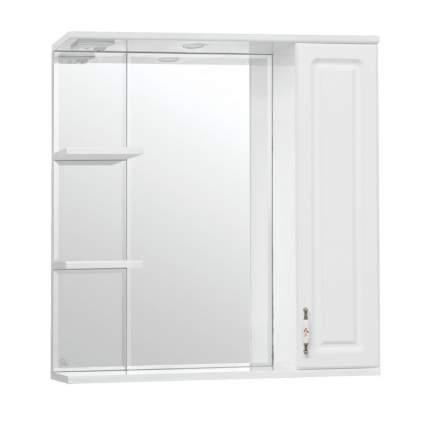 Зеркальный шкаф Style Line Олеандр-2 75/С Люкс белый