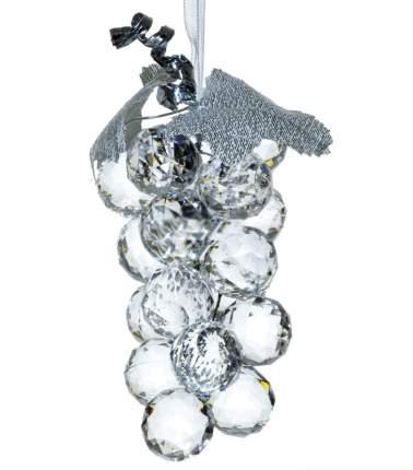 Елочная игрушка Crystal Deco Гроздь Винограда 162781 11 см 1 шт.