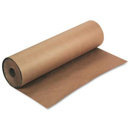 Крафт-бумага оберточная, в рулоне, 1,02х100 метров