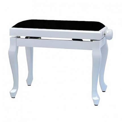 Gewa Piano Bench Deluxe Classic White Matt Банкетка