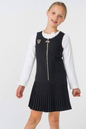 Сарафан Маленькая Леди для девочек, цв. черный, р-р 158