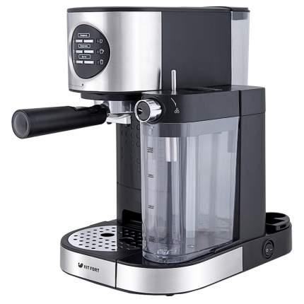 Рожковая кофеварка Kitfort КТ-703 Silver/Black