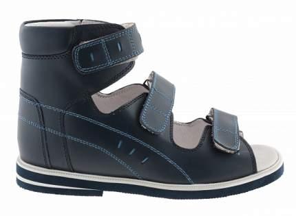 Ортопедические сандалии Sursil-Ortho 10-012_ для мальчиков синий
