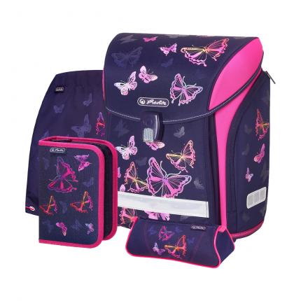 Ранец детский Herlitz New Midi Plus Rainbow Butterfly