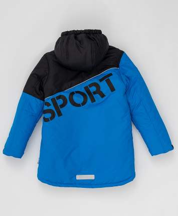 Зимнее пальто Active Button Blue 220BBBA45013700, размер 134