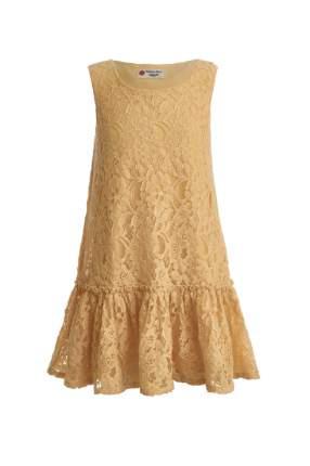Платье Button Blue для девочек, цв. желтый, р-р 152