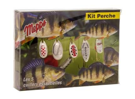 Набор блесен Kit Perche на окуня MEPPS 5 шт