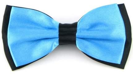 Галстук-бабочка мужской 2beMan GB013 ярко-голубой