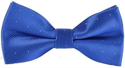 Галстук-бабочка мужской 2beMan GB046 синий