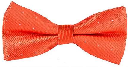 Галстук-бабочка мужской 2beMan GB054 оранжевый