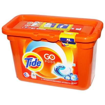 Капсулы для стирки Tide touch of lenor fresh 15 штук