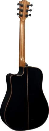 Электроакустическая гитара LAG T118 DCE-BLK шестиструнная