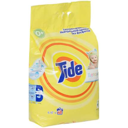 Стиральный порошок для детского белья Tide для чувствительной и детской кожи 6 кг