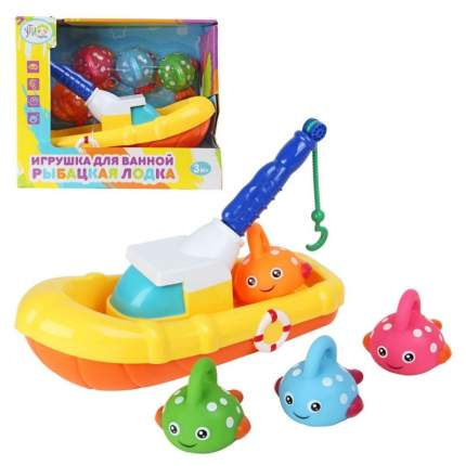 Игрушка для ванны Ути пути Рыболовная лодка