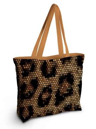 Спортивная сумка JoyArty bsz_31056 геометрическая леопардовая кожа