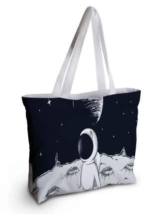Спортивная сумка JoyArty bsz_41382 космонавт на луне