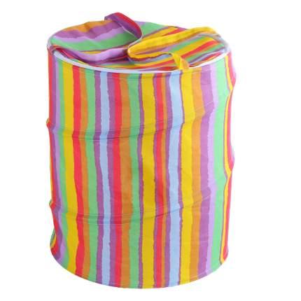 Корзина для игрушек Джамбо Тойз Разноцветные полоски JB0206668