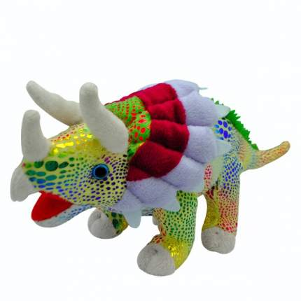 """Игрушка мягкая """"Динозавр Трицератопс"""" (зеленый)"""