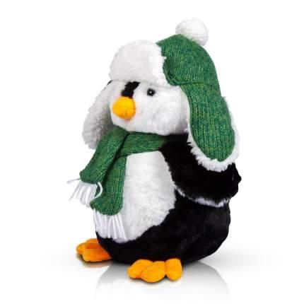 Игрушка мягкая Bebelot Пингвинчик в шапке-ушанке, 16 см