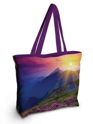 Спортивная сумка JoyArty bsz_13668 горные цветы на рассвете