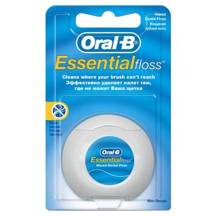 Зубная нить Oral-B Essential floss мятная 50 м