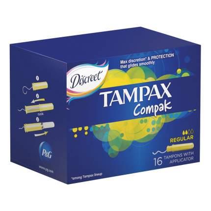 Тампоны Tampax Regular Duo 16шт