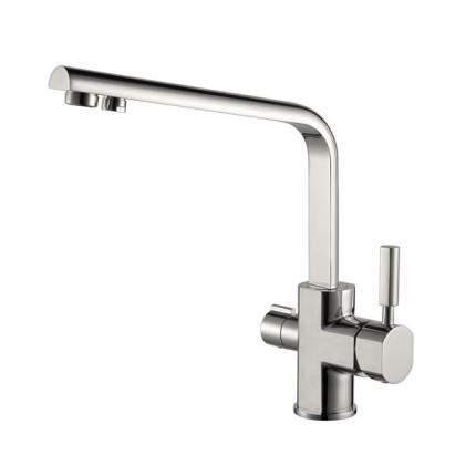 Смеситель для кухни Kaiser Decor 40144-5 с подключением к фильтру Silver