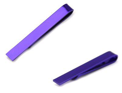 Зажим для галстука 2beMan TC027 сиреневый