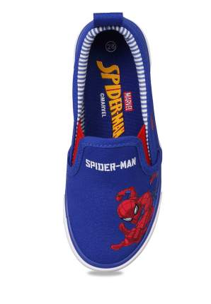 Слипоны детские Spider-Man, цв. синий р.26