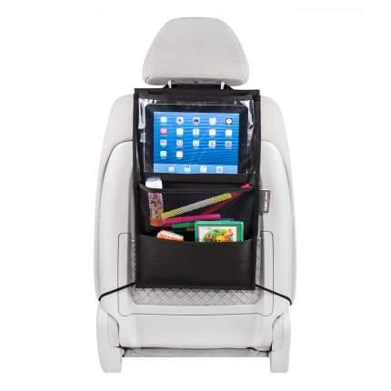 Органайзер для автомобильного сиденья с секцией под планшет