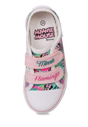 Кеды для девочек Minnie Mouse, цв. разноцветный, р-р 23