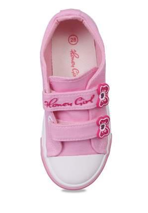 Кеды для девочек Honey Girl, цв. розовый, р-р 26