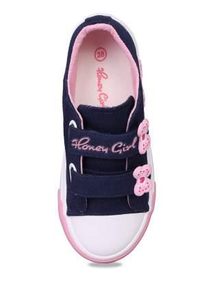 Кеды для девочек Honey Girl, цв. темно-синий, р-р 26