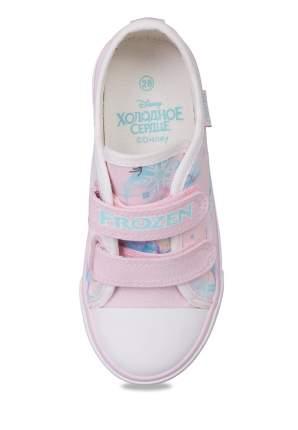 Кеды для девочек Frozen, цв. розовый, р-р 26