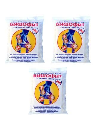 Бишофит с ионами серебра соль древнего моря, 0.5 кг. * 3 шт.