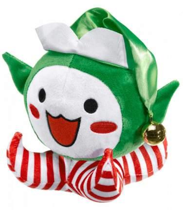 Коллекционная плюшевая игрушка Overwatch Pachimari Plush Christmas Pachi Elf