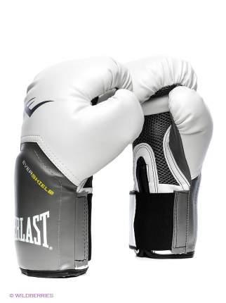 Боксерские перчатки Everlast тренировочные Protyle Elite белые