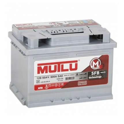 Аккумулятор MUTLU SFB 60 А/ч 560 137 052 обратная R+ EN 540A 242x175x190 L2.60.054.A